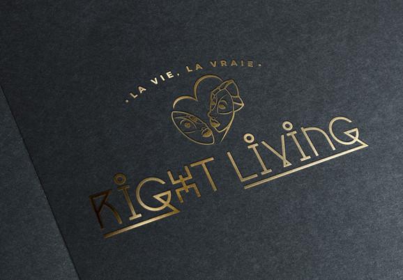 Logotype Right Living