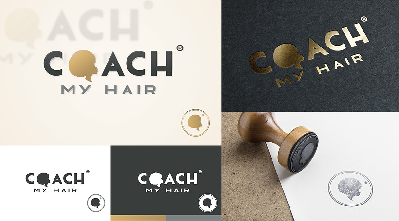 Logotype Coach My Hair