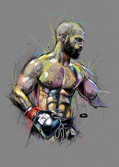 illustration Magnum (Mickael Lopes Daveiga)