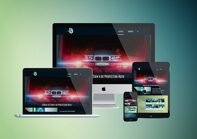 Webdesign site H3 Solutions
