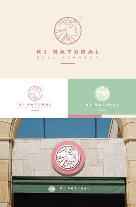 Présentation du logotype Ki Natural Soul Connect