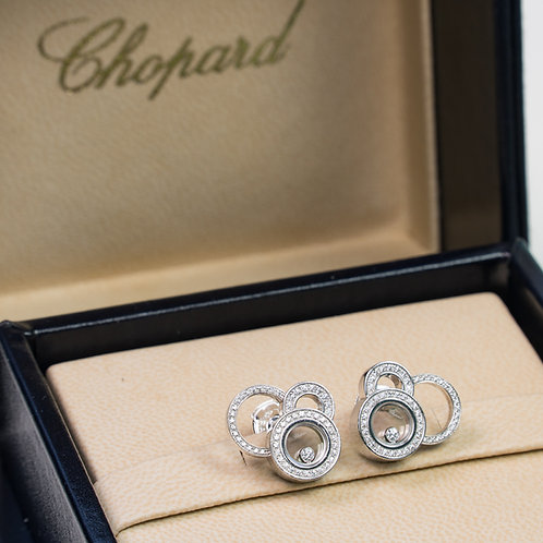 "Chopard ""Happy Bubbles"" earrings"
