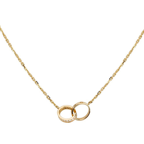 Cartier Love Diamonds Necklace B7013800
