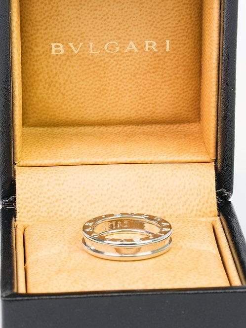 Bvlgari B.zero1 one-band ring in 18 kt white gold