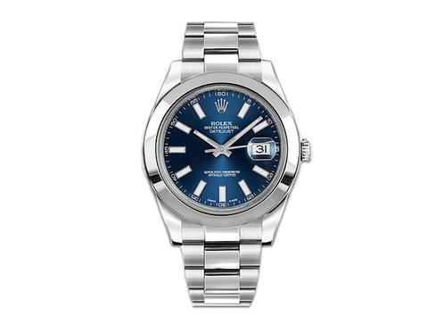 Rolex DateJust II 41mm 116300 Blue dial