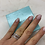 Thumbnail: Tiffany&Co. Atlas® open ring in 18k white gold with diamonds