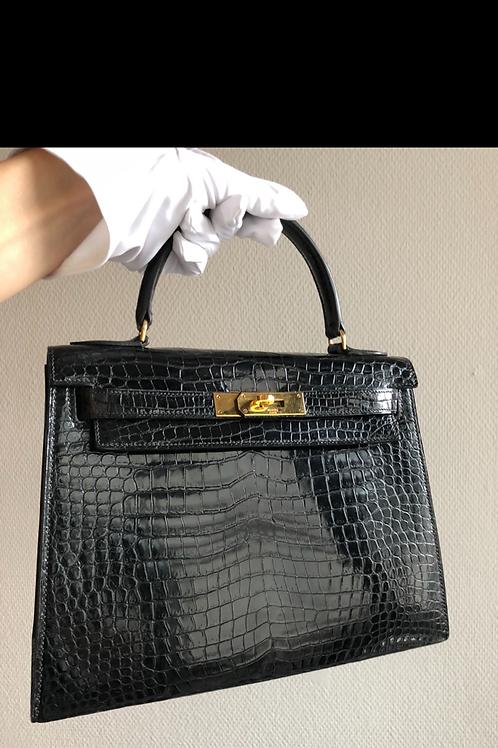 Hermes croco Kelly bag