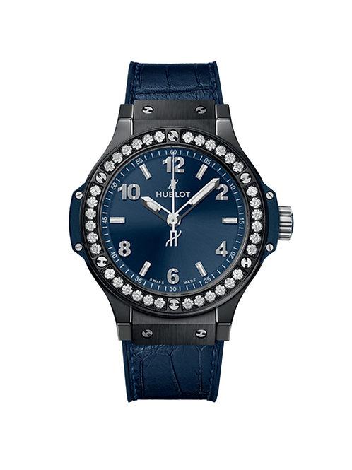 61.CM.7170.LR.1204 Hublot Big Bang 38mm diamonds ceramic