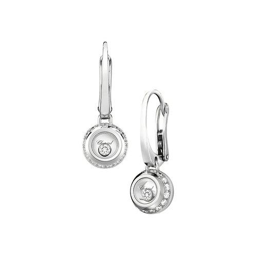 Chopard Miss Happy White Gold Diamond Earrings 839013-1001