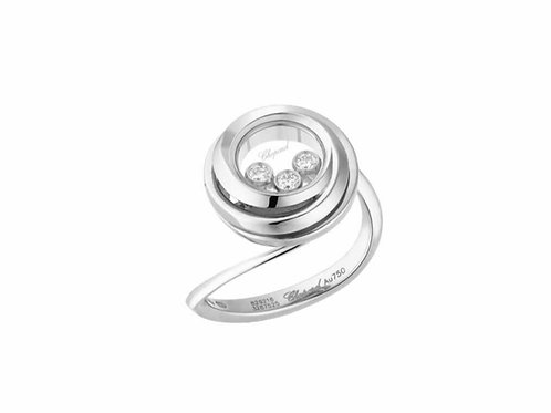 Ring Chopard Happy Diamonds Happy Emotions White Gold buy online