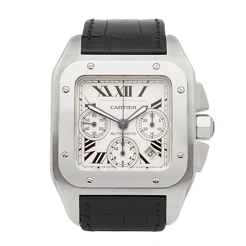 Cartier Santos 100 XL Chronograph 2740 W20090X8
