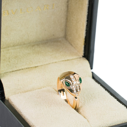 "BVLGARI ""Serpenti"" ring"