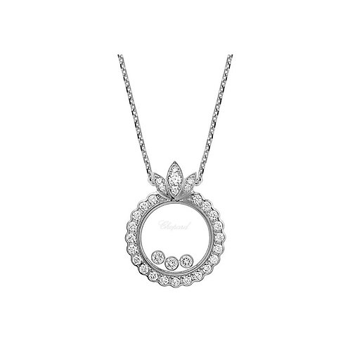 Chopard Happy Diamonds White Gold Diamond Pendant 794267-1301
