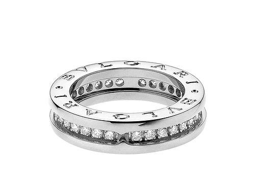 Bvlgari B.zero1 one-band diamond ring