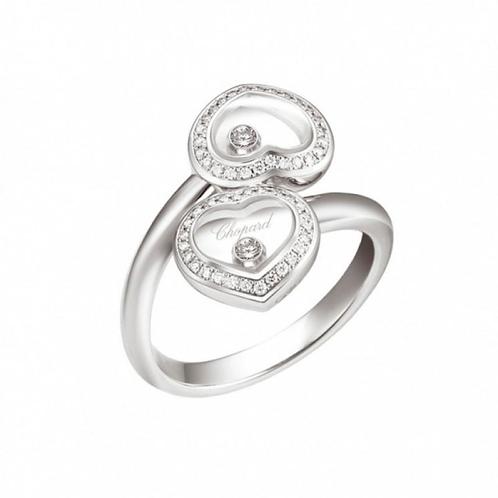 Chopard Happy Diamond Double Heart Ring 829393 - 1039