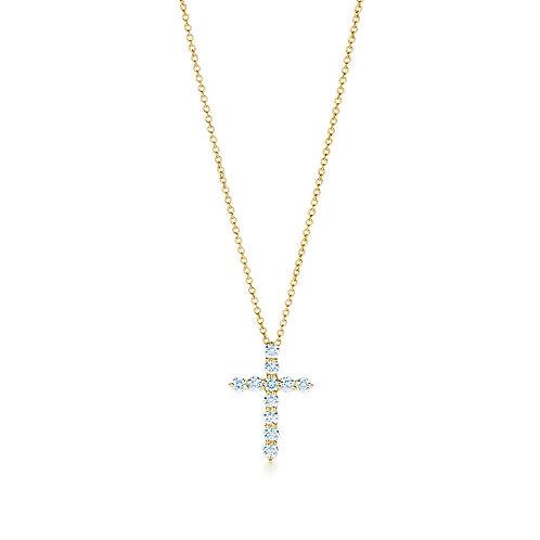 buy tiffany cross pendant
