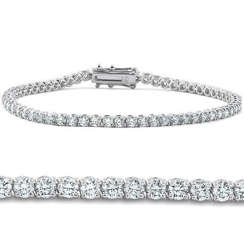 3,4ct Diamonds Tennis Bracelet VVS1