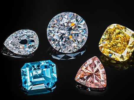 Как цвет бриллиантов влияет на их цену!