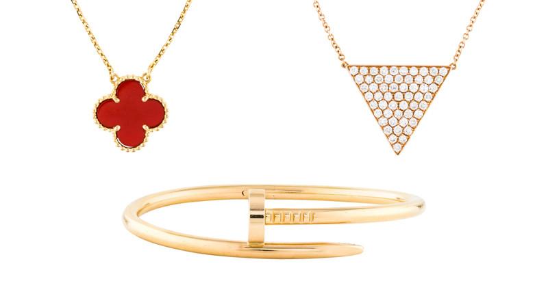 luxury jewelry Cartier Van Cleef
