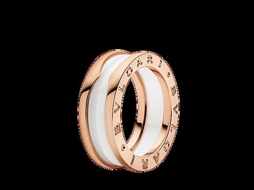 Bulgari B.Zero 1 two-band ring 347006