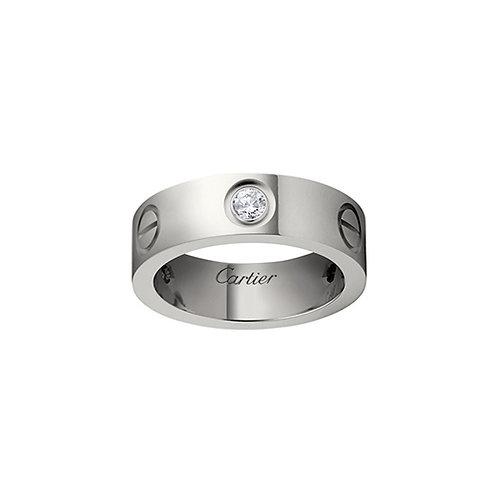 Cartier Love 3 Diamonds Ring B4032500