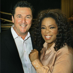 with Oprah