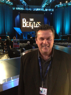 at the Beatles tribute