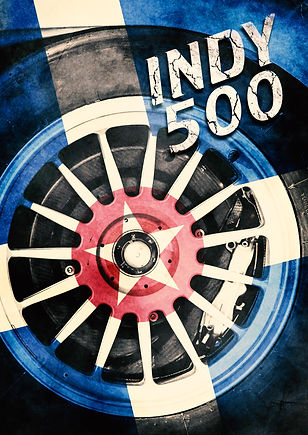 """Indy 500"" Movie Poster"