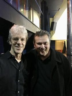 with Stewart Copeland