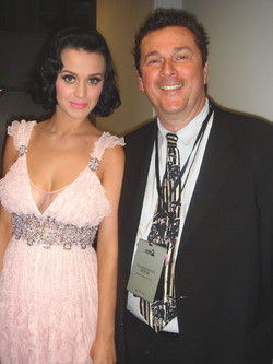 with Katy Perry