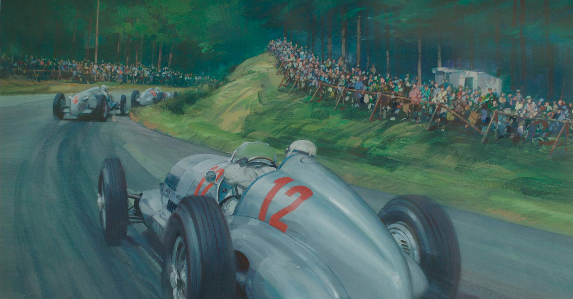 Silver Arrows @ the Green Hell