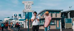 Josh and Dominic in Santa Monica