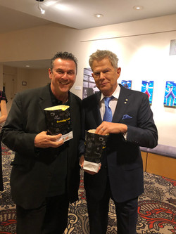 "At the Premiere of the documentary ""David Foster: Off The Record "" with David"