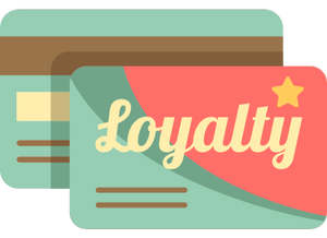 A loyalty card.