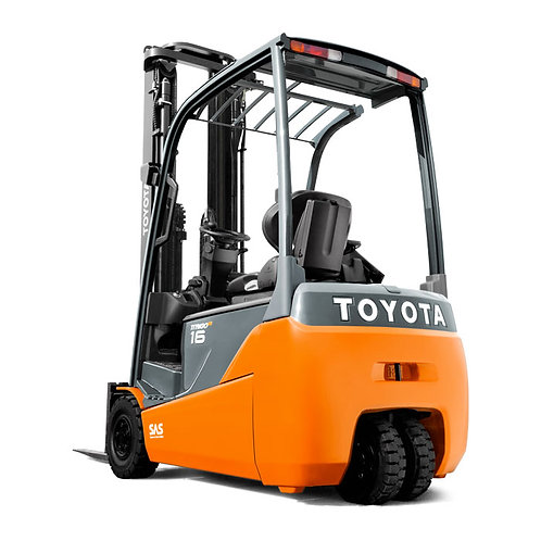 Toyota 3 Wheel Electric Forklift 1000kg to 2000kg (Get a Quote)