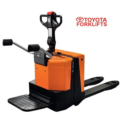 LPE200/6 BT Orion Powered Pallet Truck with Platform 2000kg (Clearance)