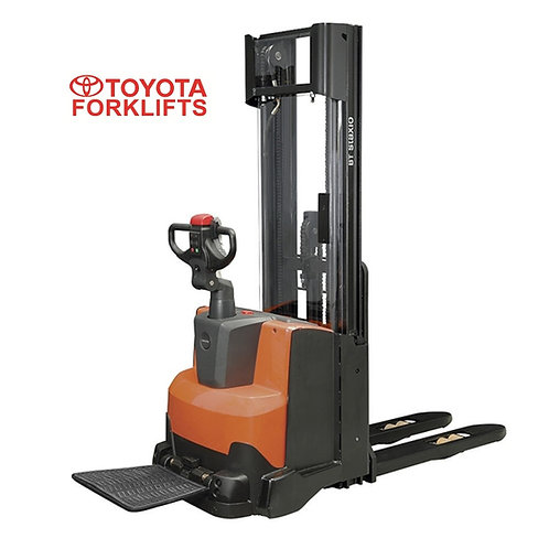 SWE100 Toyota Staxio W Powered Stacker with Platform 1000kg (Get a Quote)
