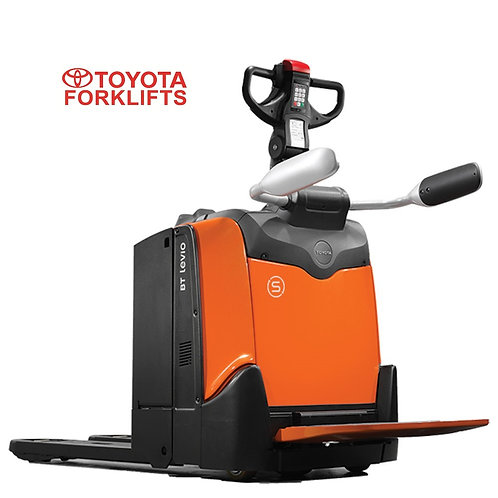 LPE200 Toyota Levio P Powered Pallet Truck with Platform 2000kg (Get a Quote)