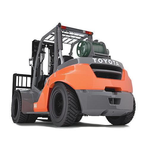 Toyota Gasoline LPG Forklift 3500kg to 8000kg (Get a Quote)