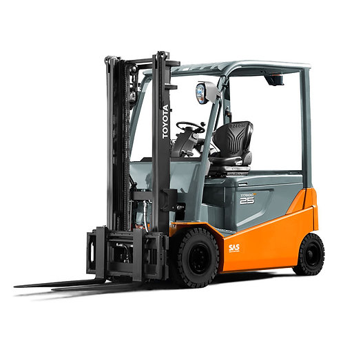 Toyota 4 Wheel Electric Forklift 1500kg to 3000kg (Get a Quote)