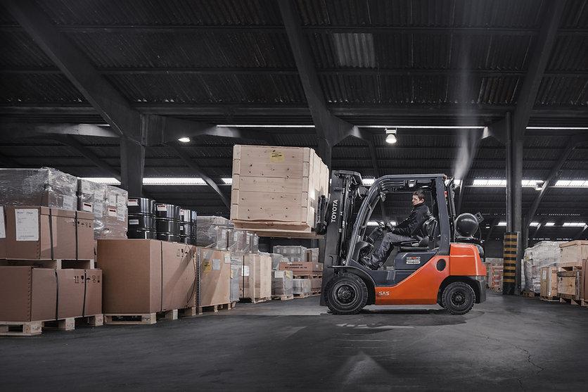 Toyota Diesel Gasoline LPG Engine Forklift