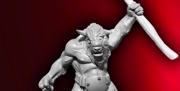 Monsters - Bisotaur Warrior 2