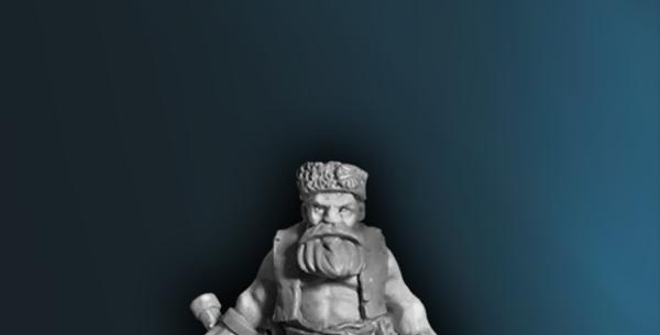 Adventurers - Male Dwarf Ranger