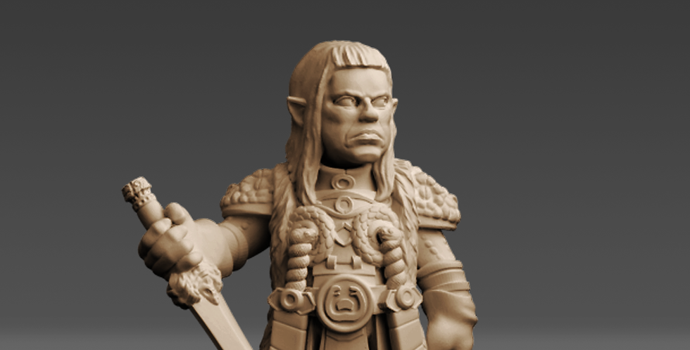 """Halfling Cultist """"Thulwise"""""""
