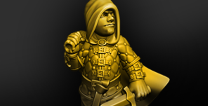 Halfling Rogue 01 - STL download