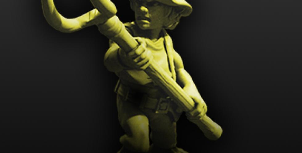 Halfling Militia 05 - STL download