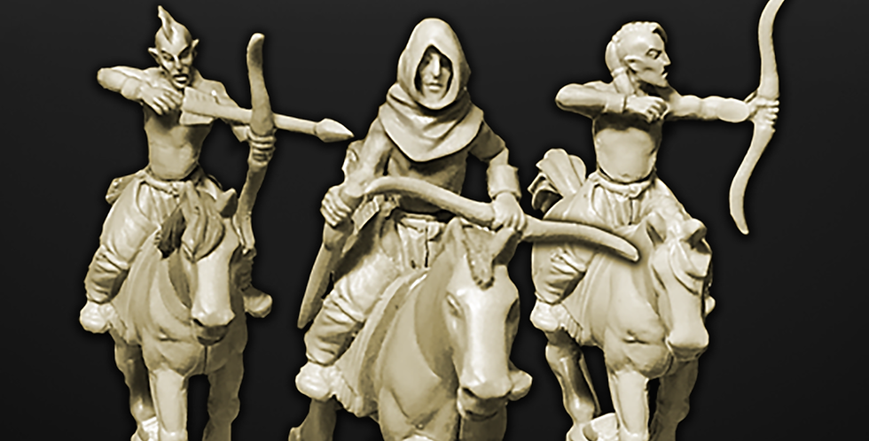 Woad Elves - Mounted Bows