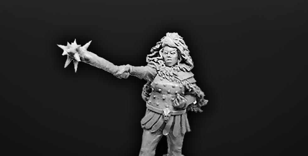 "Female Barbarian ""Tarva"""