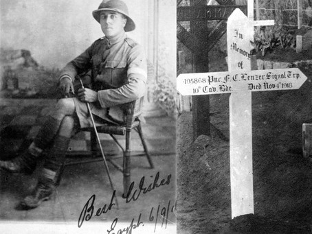 Private Frank Charles Lenzer