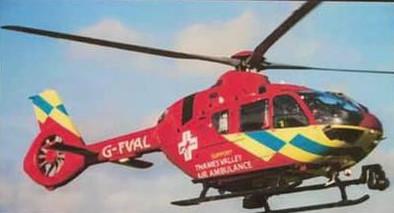 Air Ambulance charity match success